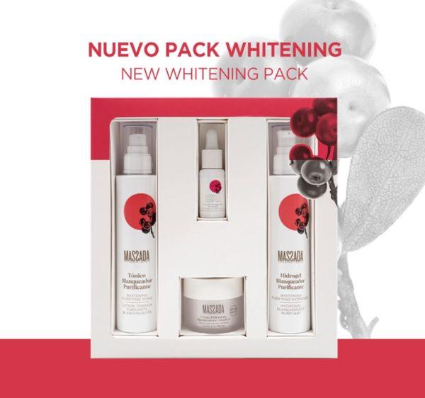 Pack whitening de Massada